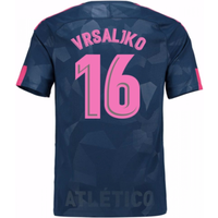 2017-18 Atletico Madrid Third Shirt (Vrsaljko 16) - Kids