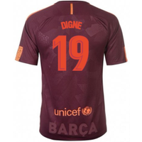 2017-18 Barcelona Nike Third Shirt (Digne 19) - Kids