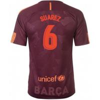 2017-18 Barcelona Nike Third Shirt (Suarez 6) - Kids