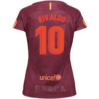 2017-18 Barcelona Third Women Shirt (Rivaldo 10)