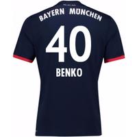 2017-18 Bayern Away Shirt (Benko 40) - Kids