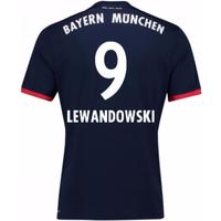 2017-18 Bayern Away Shirt (Lewandowski 9)