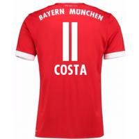 2017-18 Bayern Munich Home Short Sleeve (Kids) (Costa 11)
