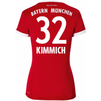 2017-18 Bayern Munich Home Womens Shirt (Kimmich 32)