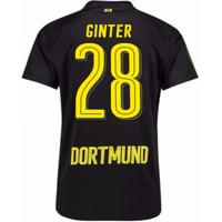 2017-18 Borussia Dortmund Away Shirt (Ginter 28) - Kids