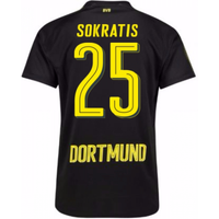 2017-18 Borussia Dortmund Away Shirt (Sokratis 25)