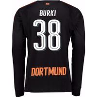 2017-18 Borussia Dortmund Home Goalkeeper Shirt (Burki 38)