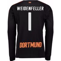 2017-18 Borussia Dortmund Home Goalkeeper Shirt - Kids (Weidenfeller 1)
