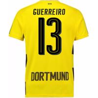 2017-18 Borussia Dortmund Home Short Sleeve Shirt (Guerreiro 13)