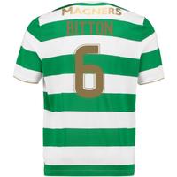 2017-18 Celtic Home Shirt (Bitton 6)