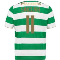 2017-18 Celtic Home Shirt (Sinclair 11) - Kids