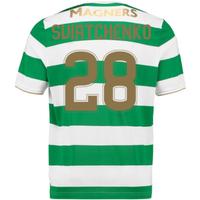 2017-18 Celtic Home Shirt (Sviatchenko 28)