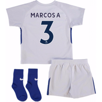2017-18 Chelsea Away Baby Kit (Marcos A 3)