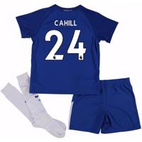 2017-18 Chelsea Home Mini Kit (Cahill 24)