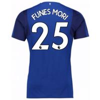 2017-18 Everton Home Shirt (Funes Mori 25)