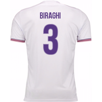 2017-18 Fiorentina Away Shirt (Biraghi 3)
