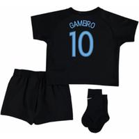 2017-18 France Away Nike Mini Kit (Black) (Gameiro 10)
