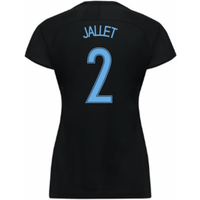 2017-18 France Away Nike Womens Shirt (Black) (Jallet 2)