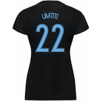 2017-18 France Away Nike Womens Shirt (Black) (Umtiti 22)