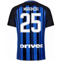 2017-18 Inter Milan Home Shirt (Miranda 25)