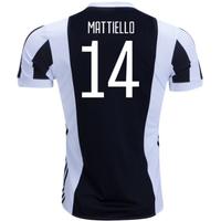 2017-18 Juventus Home Shirt (Mattiello 14) - Kids