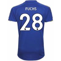 2017-18 Leicester City Home Shirt (Fuchs 28)