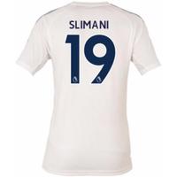 2017-18 Leicester City Third Shirt (Slimani 19)