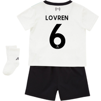 2017-18 Liverpool Away Baby Kit (Lovren 6)