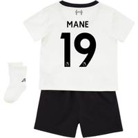 2017-18 Liverpool Away Baby Kit (Mane 19)