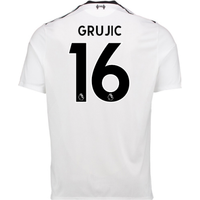 2017-18 Liverpool Away Shirt (Grujic 16) - Kids