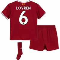 2017-18 Liverpool Home Mini Kit (Lovren 6)