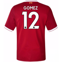 2017-18 Liverpool Home Short Sleeve (Kids) (Gomez 12)