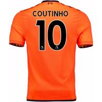 2017-18 Liverpool Third Shirt (Coutinho 10) - Kids