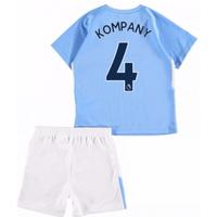 2017-18 Man City Home Baby Kit (Kompany 4)