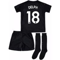 2017-18 Man City Third Mini Kit (Delph 18)