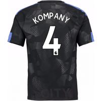 2017-18 Man City Third Shirt (Kompany 4) - Kids