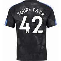 2017-18 Man City Third Shirt (Toure Yaya 42)