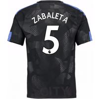 2017-18 Man City Third Shirt (Zabaleta 5) - Kids