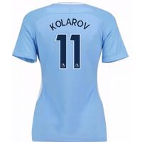 2017-18 Man City Womens Home Shirt (Kolarov 11)