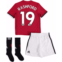 2017-18 Man United Home Mini Kit (Rashford 19)