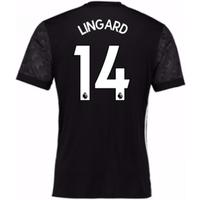 2017-18 Man Utd Away Adidas Shirt (Lingard 14)