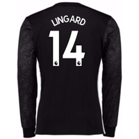 2017-18 Man Utd Away Long Sleeve (Lingard 14)
