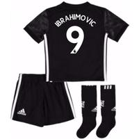 2017-18 Man Utd Away Mini Kit (Ibrahimovic 9)