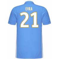 2017-18 Marseille Adidas Away Shirt (Kids) (Evra 21)