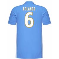 2017-18 Marseille Adidas Away Shirt (Kids) (Rolando 6)
