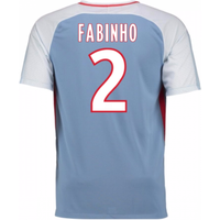 2017-18 Monaco Away Shirt (Fabinho 2) - Kids
