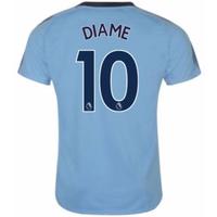 2017-18 Newcastle Away Shirt (Diame 10)