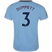 2017-18 Newcastle Away Shirt (Dummett 3)