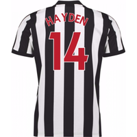 2017-18 Newcastle Home Shirt (Hayden 14)