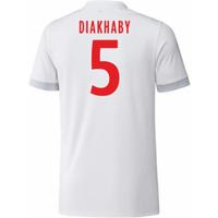 2017-18 Olympique Lyon Adidas Home Shirt (Diakhaby 5)